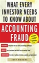 Imagen de What Every Investor Needs to Know About Accounting Fraud
